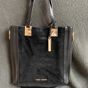 Vince Camuto suede handbag